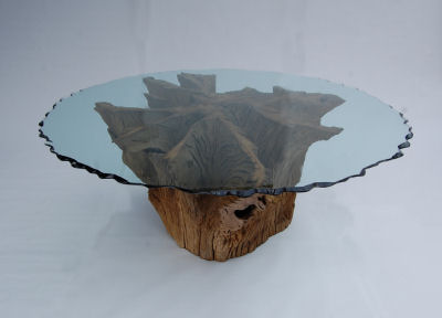 Incroyable Oak Stump Table